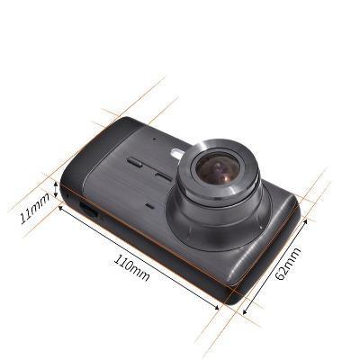 Deelife DashCamCarDVRCamera FullHD1080PVideoRecorderPlayer AutoDash 32 Caméra Enregistreur Vidéo HD Pour Voiture : 1296P HD Dual Lens Avec Enregistrement En Boucle