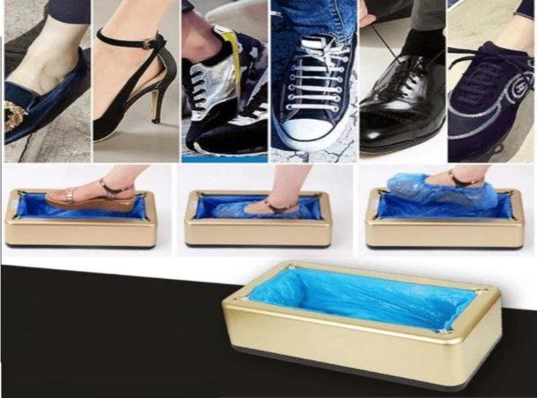 DistributeurdeCouvreChaussuresAutomatique2 Distributeur De Couvre Chaussures: Distributeur Intelligent Mains Libres