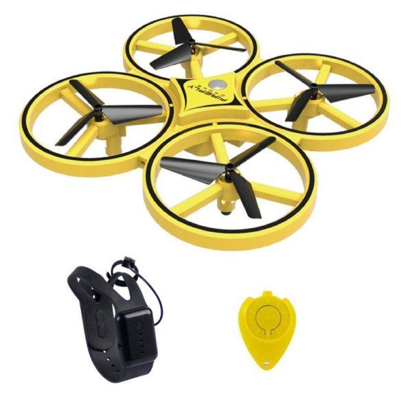 Drone de controle des gestes par gravite Entierement controlable avec la main Drone De Contrôle Des Gesture Par Gravité : Contrôlable Avec La Main