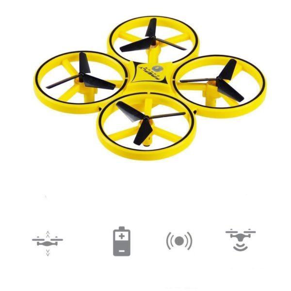 Drone de controle des gestes par gravite Entierement controlable avec la main 4 Drone De Contrôle Des Gesture Par Gravité : Contrôlable Avec La Main