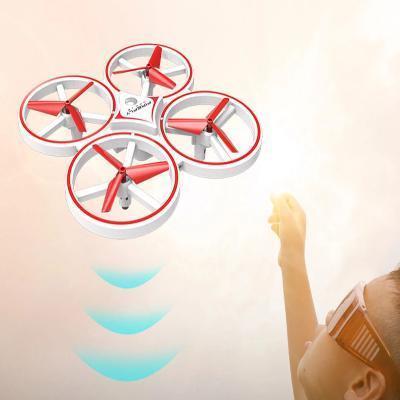 Enfants capteur de gravit geste RC Drone quadrirotor jouet RC avion gar ons jouets en plein 65dfd83c 391b 4cfb 96c3 6e79132bb428 Drone De Contrôle Des Gesture Par Gravité : Contrôlable Avec La Main