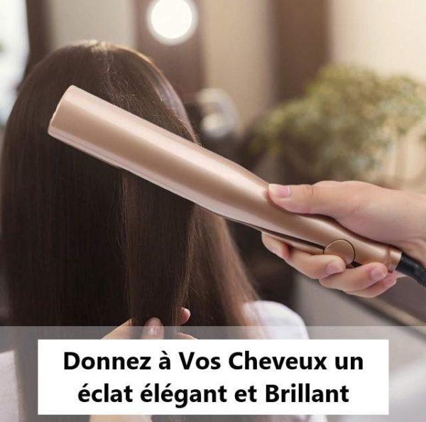Lisseur Cheveux Professionnel et Looper : Cheveux en céramique de fers plats 2 en 1