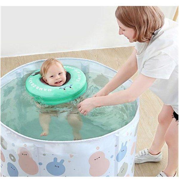 Flotteur De Natation Pour Bébé: Protégez Vos Enfants Et Donnez-Leur Confiance Dans L'eau - Vert / Moyen