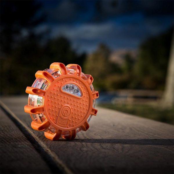 Balise Led D'urgence: Protège En Toutes Circonstances - Orange