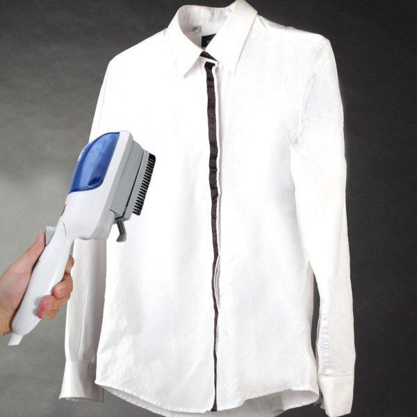 Repasser Portable avec Défroisseur : Parfait Pour Toutes les Sortes de Tissus - Bleue / Stil 2