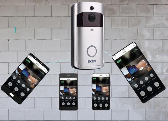 HTB1..4EacfrK1Rjy0Fmq6xhEXXaN 540x 9b2a8399 d4aa 4dc2 8015 7b0ec4293cdf Caméra de Surveillance Sans Fil et Sonnette Connectée 720P