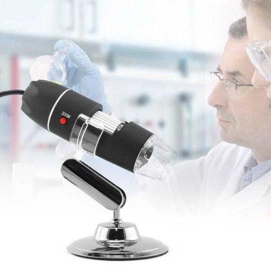 Microscope Numérique Portable : Avec Traduction de Photos - USB model 1600X