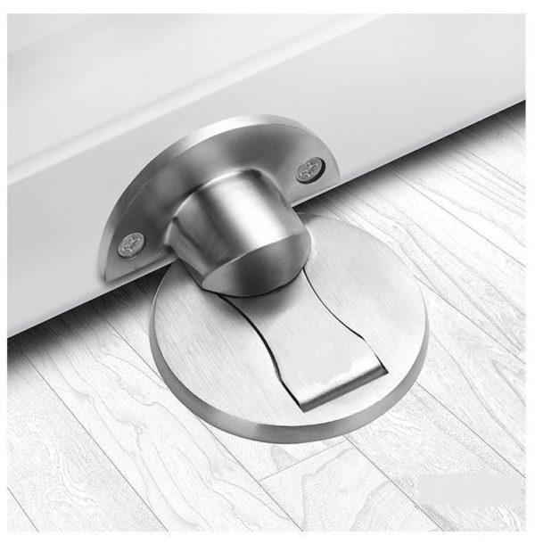 Hf3a2dff9c99749d582ff1127e5cd2488B Bloque Porte Magnétique : Idéal Pour Salon, Chambre, Toilettes Et Bureau