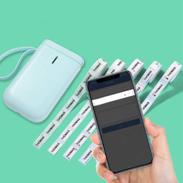 Imprimanted tiquett 24 Imprimante D'étiquette Thermique Et Bluetooth: Etiquettez Et Organisez Votre Quotidien