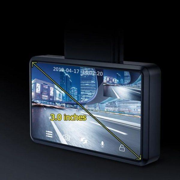 JADOD330CarDVRCameraWIFISpeedNGPSDashcamFHD1080PDashCam24HPark 19 Caméra Enregistreur Vidéo HD Pour Voiture: Avec Vue Avant et Arrière et 1080p Vision Nocturne
