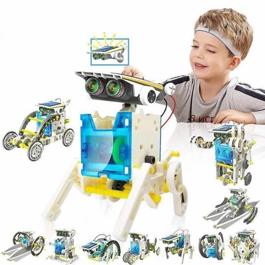 JouetRobotSolaireEducatif 2 Jouet Robot Solaire Éducatif: Cadeau De Vacances Ou De Noël Parfait Pour Tout Enfant!