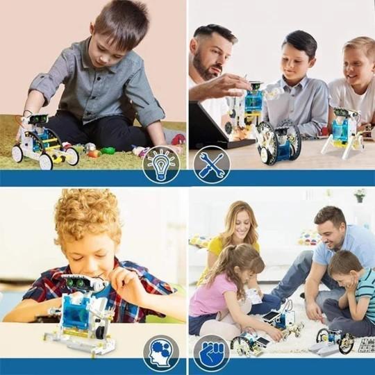 JouetRobotSolaireEducatif 5 Jouet Robot Solaire Éducatif: Cadeau De Vacances Ou De Noël Parfait Pour Tout Enfant!