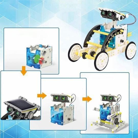 JouetRobotSolaireEducatif 6 Jouet Robot Solaire Éducatif: Cadeau De Vacances Ou De Noël Parfait Pour Tout Enfant!