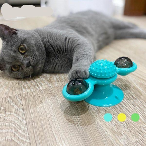 Jouetspinnerchat 4 Jouet Spinner Chat: Véritable Anti-stress Pour Votre Chat