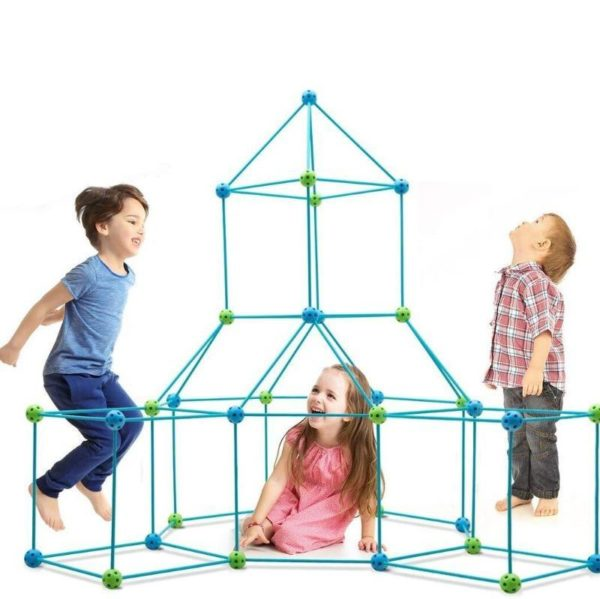 KitDeConstructionPourEnfants 1 Kit De Construction Pour Enfants: Permet À L'enfant De Créer La Structure Qu'il Imagine