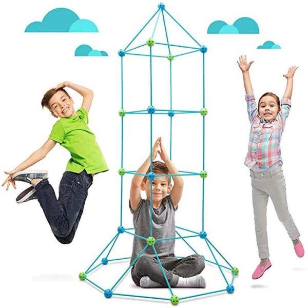 KitDeConstructionPourEnfants 2 Kit De Construction Pour Enfants: Permet À L'enfant De Créer La Structure Qu'il Imagine