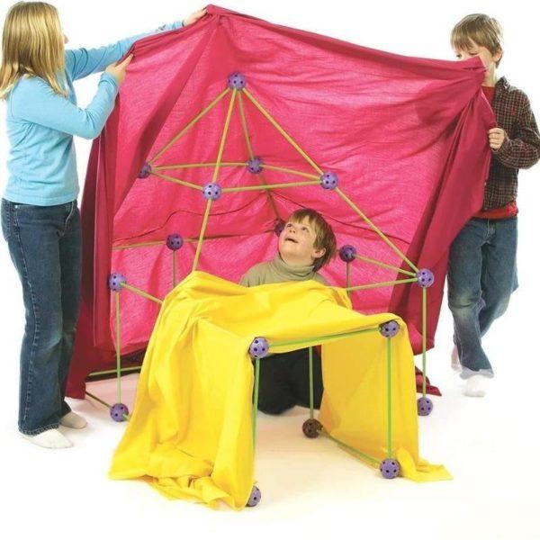 KitDeConstructionPourEnfants 5 Kit De Construction Pour Enfants: Permet À L'enfant De Créer La Structure Qu'il Imagine