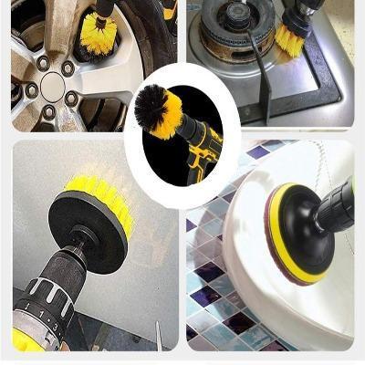 Kitdenetto 24 Multi-surfaces Perceuse Électrique Brosse De Nettoyage : Kit de Brosse de 14 et 22pcs