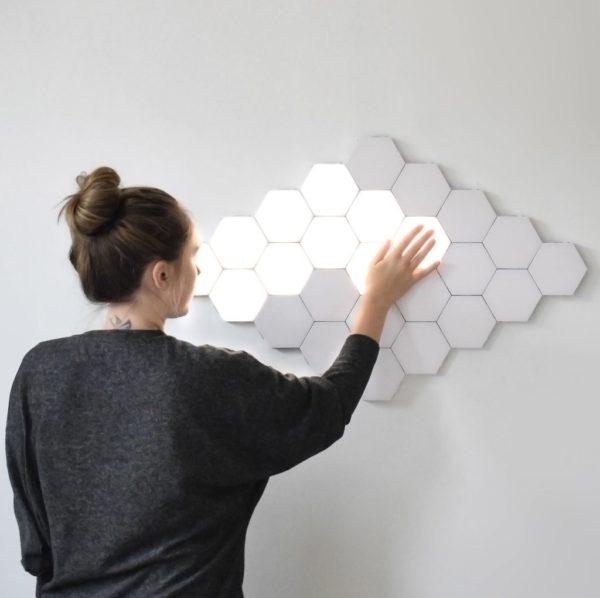 Lampe À LED Magnétique : Lumières Tactiles Modernes et Flexibles - 5PC LAMPE