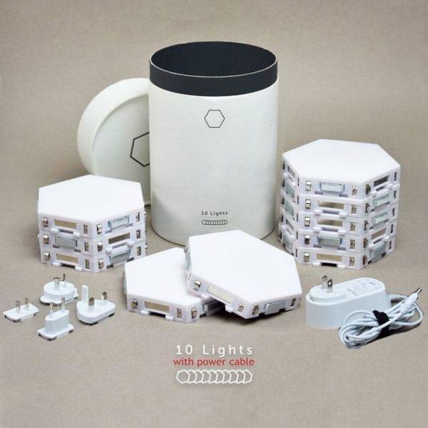 Lamp5 Lampe À LED Magnétique : Lumières Tactiles Modernes et Flexibles