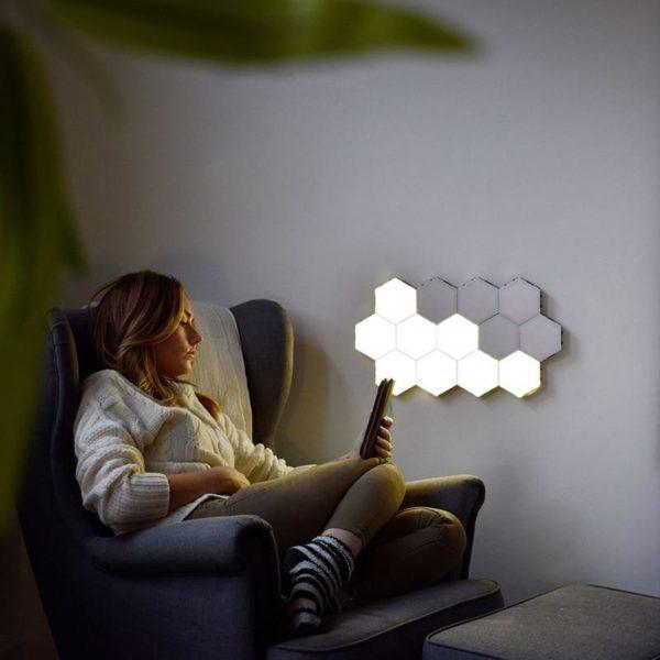 Lampe À LED Magnétique : Lumières Tactiles Modernes et Flexibles - 10PC LAMPE