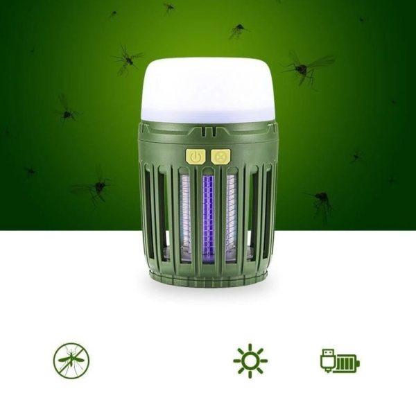 LampeDeCampingAntiMoustique 4 Lampe De Camping Anti Moustique: Un Éclairage Pratique Et Plus De Moustiques Gênants