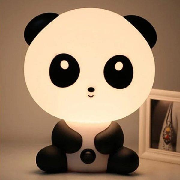 Lampe Veilleuse Led Pour Bébé : Idéal Pour Une Chambre D'enfant Ou Pour Décorer Votre Salon - Panda