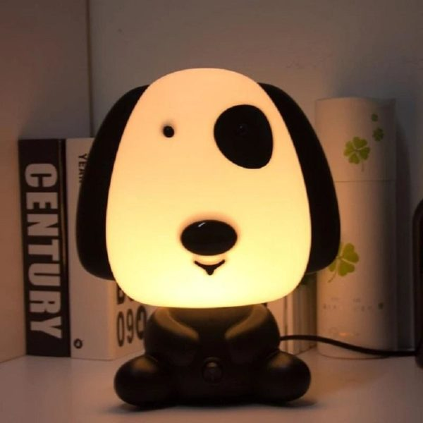 Lampe Veilleuse Led Pour Bébé : Idéal Pour Une Chambre D'enfant Ou Pour Décorer Votre Salon - Chien