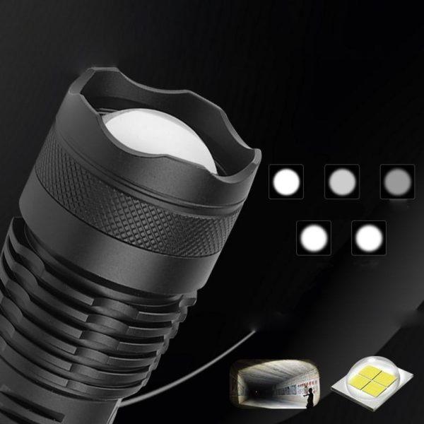 Lampedepocheportable 2 Lampe De Poche Portable: Permet Un Éclairage Ultra Puissant Même Dans Le Noir Le Plus Complet