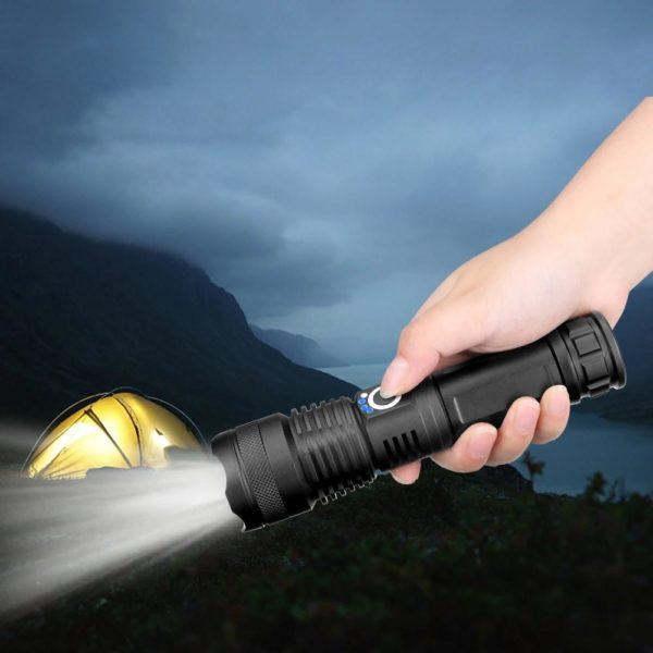 Lampedepocheportable 6 Lampe De Poche Portable: Permet Un Éclairage Ultra Puissant Même Dans Le Noir Le Plus Complet