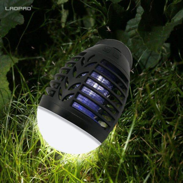 Lanterne Camping moustique tueur lampe 5W USB Charge 2200MAH maison ext rieure lectrique tanche ins rer 39cd664b 4c24 4f0b a029 14afb971ec7e Lanterne Anti-moustiques : L'arme Ultime Pour Éliminer Les Insectes Nuisibles
