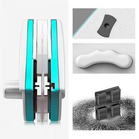 LaveVitreMagnetiqueDoubleFace 2 Lave Vitre Magnétique Double Face : Rotation Multi-angle Pour un Nettoyage