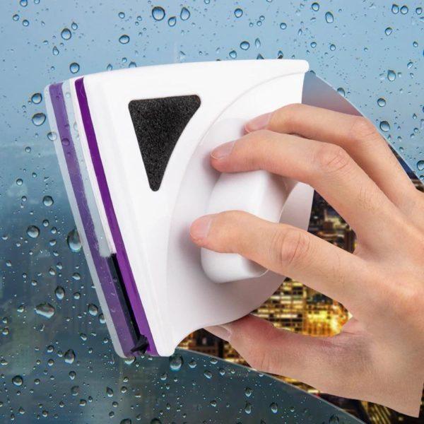 LaveVitreMagnetiqueDoubleFace 6 Lave Vitre Magnétique Double Face : Rotation Multi-angle Pour un Nettoyage