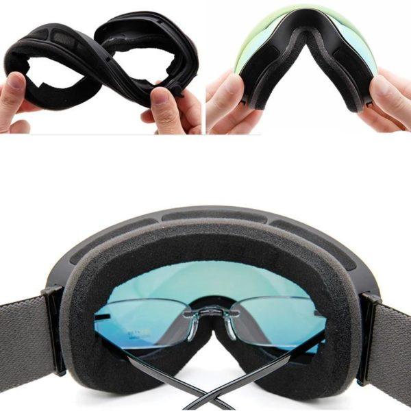 Lunettes de Ski lunettes de Sports de neige d hiver avec Protection Anti bu e UV 6fbbc9b3 ffef 423d 9136 cfa3092dc8bd Masque De Ski : La Meilleure Protection Pour Vos Yeux Contre L'eblouissement