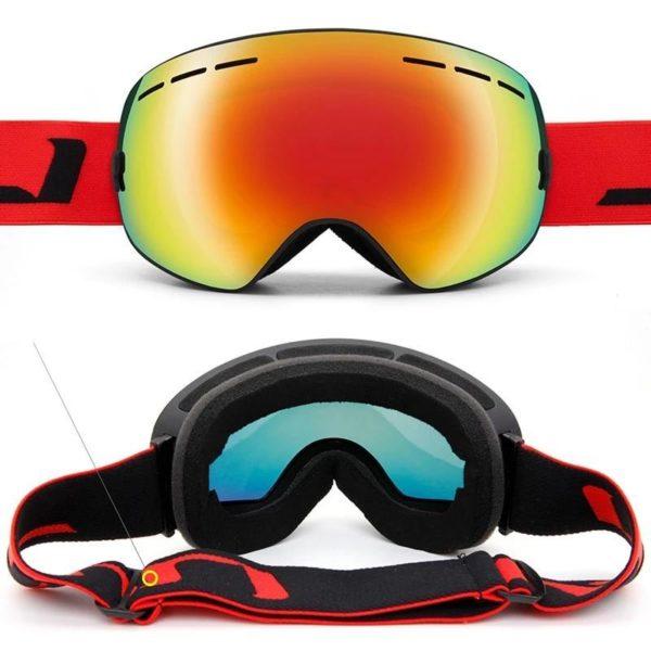 Lunettes de Ski lunettes de Sports de neige d hiver avec Protection Anti bu e UV bf549fb0 a8d5 4dc7 8afe 0fbd31e0488a Masque De Ski : La Meilleure Protection Pour Vos Yeux Contre L'eblouissement