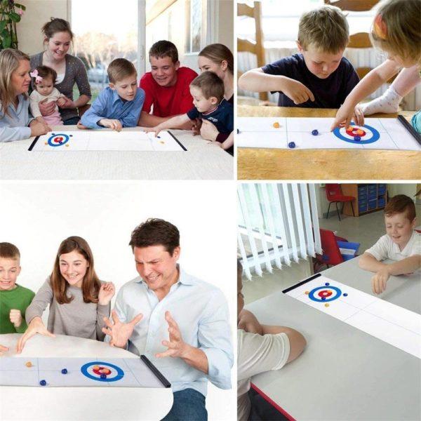 MINIJEUDECURLINGDETABLE 9 Mini Jeu De Curling De Table: Le Meilleur Jeu Pour Chaque Occasion!