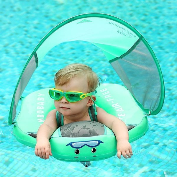 MamboFlotteur 4 min Mambo Flotteur : Votre enfant peut jouer dans l'eau confortablement (3 à 24 mois)
