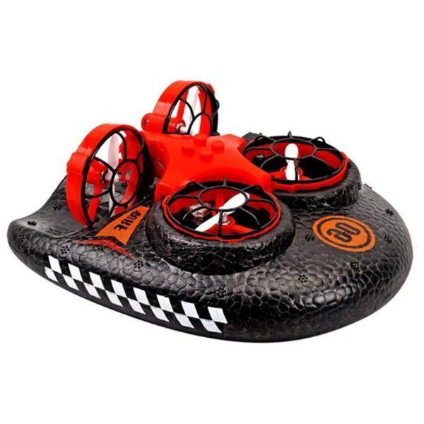 Mer terre et Air jouets amphibies Mini Drone t l commande voiture Simulation Hovercraft 2 4g 73706f88 113c 4380 9bc1 3ee03042d6f2 Mini Drone Amphibie : Combinaison D'avion Et De Coque En Mousse