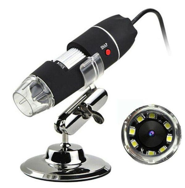 Microscope Numérique Portable : Avec Traduction de Photos - Wifi 1000x