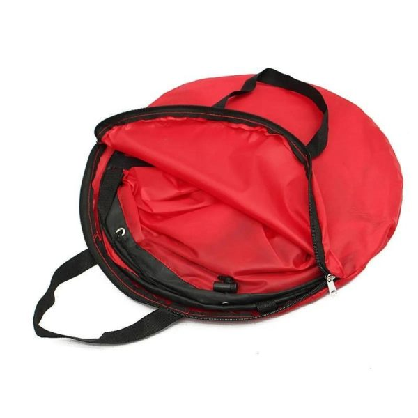 Mini Voile Portable : Que Vous Soyez Sur Un Kayak Ou Même Un Paddle - Rouge