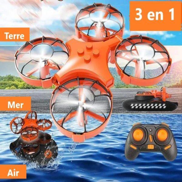 Mini Drone Amphibie Eachine Combinaison D avion Et De Coque En Mousse 2 Mini Drone Amphibie : Combinaison D'avion Et De Coque En Mousse