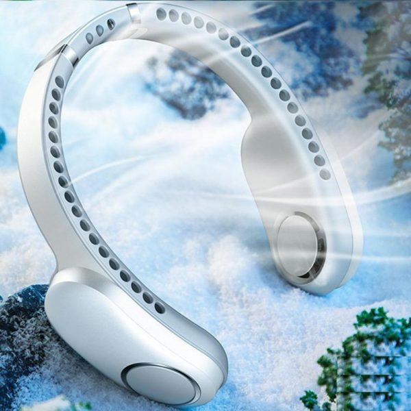 Miniventilateurde 13 Éventail Paresseux Suspendu : USB Rechargeable Avec 48 Évents Environnants