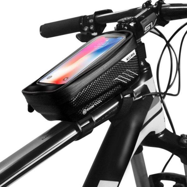 Support de Téléphone pour Guidon Moto : Pochette Waterproof Pour Smartphone - Modèle 1