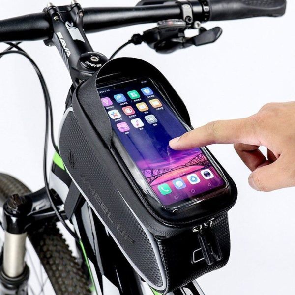 Support de Téléphone pour Guidon Moto : Pochette Waterproof Pour Smartphone - Modèle 3
