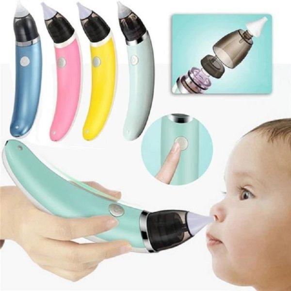 Mouche bebeElectrique 13 Mouche-bébé Électrique : Aspirateur Nasal Électrique Intelligent Pour Les Bébés