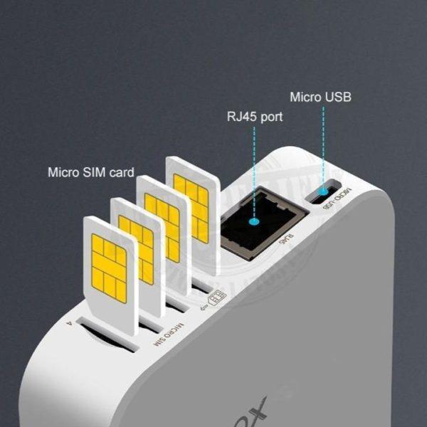 MultiSim4GSIMBOXPourIOSEtAndroid2 Multi Sim 4G SIMBOX Pour IOS Et Android: Mettez-Le Où Vous Voulez Et Il Peut Vous Faire Double Sim En Ligne