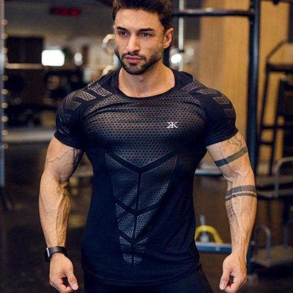 T-shirt Musculation Pour Hommes Pour Physique Incroyable - Noir 1 / M