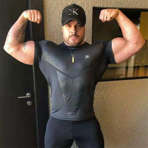 MusculationT shirtDePourHommes 17 1 T-shirt Musculation Pour Hommes Pour Physique Incroyable