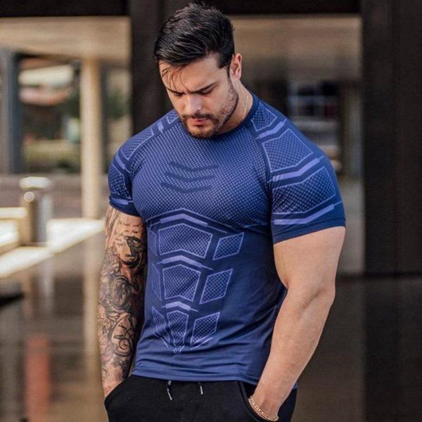 T-shirt Musculation Pour Hommes Pour Physique Incroyable - Bleu / M