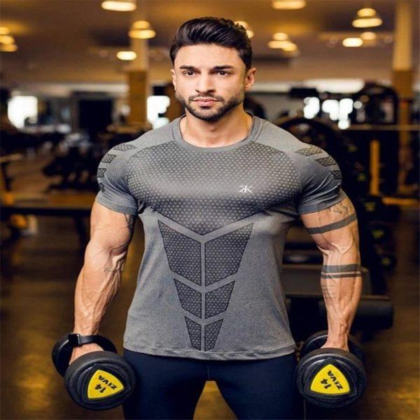 T-shirt Musculation Pour Hommes Pour Physique Incroyable - Gris 1 / M